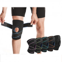 BOER Silicone Shock Absorber Knee Support Fitness Protective Gear Breathable Knee Pad