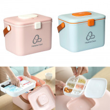 Xiaomi Jordan&Judy Double Layer First Aid Kit Medical Box Portable Medical Chest Emergency Container