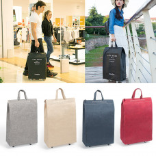 2 In 1 Pulley Bag Shopping Bag Portable Luggage Bag Camping Travel Storage Handbag