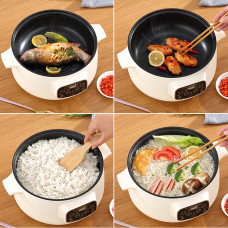 Dormitory Cooking And Cooking One Pot Kitchen Small Appliances Student Dormitory Electric Pot Household Multifunctional Electric Cooking Pot Non-Stick