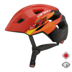 Cairbull CB-45 MAXSTAR 3Modes Lights PC+EPS Shock-proof Children Riding Helmet Kids Bicycle Helmet Balance Scooter Safety Helmet with Taillight