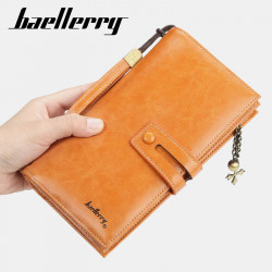 Baellerry Women Beauty Faashion Long Wallet Clutches Bag Zipper Phone Bag