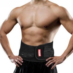 WOSAWE Nylon Elastic Waist Belt Fatigue Relief Sports Fitness Football Basketball Waist Support