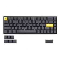 KBDfans Black Printing Character Keycaps Cherry Profile PBT 68 Keys TADA68 Mechanical Keyboard Keycap for TADA68 KBD67 Keyboards