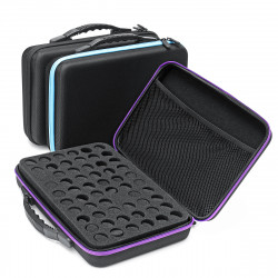 60 Bottle Essential Oil Case Carrying Portable Travel Holder 10ML Storage bag