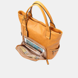 Women Multifunction Large Capacity Crossbody Bag Backpack Handbag