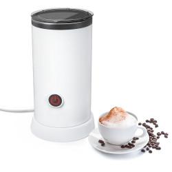 Digoo DG-HS005 Electric Milk Frother Machine Warmer 550W Automatic Milk Heating 240ml Stainless Steel Inner Foam Maker