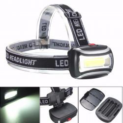 BIKIGHT TH-125 600LM Rechargeable COB Headlamp Camping Cycling Flashlight Night Warning Light