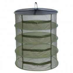 ZANLURE Large 4 Tier Shelf Hydroponic Hanging Growing Herb Dry Rack Drying Net 3yue Fishing Net
