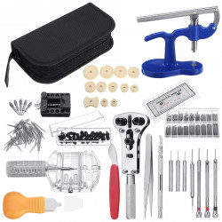 517 Pcs Watch Repair Tools Kit Watch Link Pin Opener Remover Case Spring Bar Watches Accessories