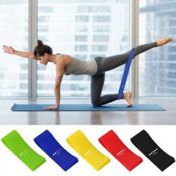 5 Pcs/Set 5-40LB Yoga Resistance Bands Quick Slide Plate Set Home Fitness Speed Strength Training Tools