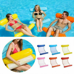 Inflatable Float Water Hammock Float Pool Lounge Bed Sea Beach Swimming Chair