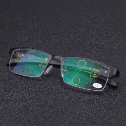 Multi Focus Sunglasses Photochromic Progressive Transition Reading Glasses