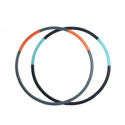 Xiaomi YEUX Removable Rubber Fitness Hoop Hula Body Beauty Slimming Yoga Ring Exercise Tools -Orange