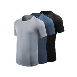 Xiaomi Giavnvay Men's Icy Sports T-Shirt Ultra-thin Quick-Drying Smooth Fitness Running T-Shirts From Xiaomi Youpin