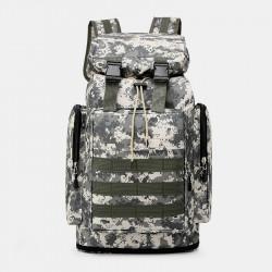 Men Casual Large Capacity Waterproof Backpack Travel Sports Bag
