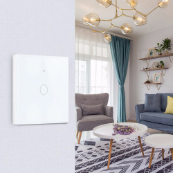 Bakeey 1 Way 2 Way 3 Way Wifi Intelligent Touch Smart Switch APP Remote Control Wall Switch For Smart Home