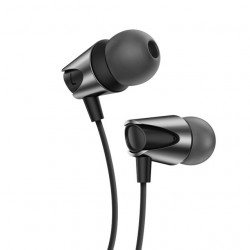 KUULAA 3.5mm Wired Control Deep Bass Earphone Sports In-ear Headphones for iPhone Xiaomi Huawei
