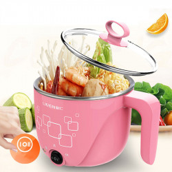 LIVEN HG-X1001 1L 600W Electric Cooker Electric Hot Pot Small 304 Stainless Steel from Xiaomi Eco-system