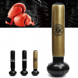 Inflatable Boxing Target Punching Bag Standing Home Gym Fitness Training Tool Reduce Pressure Tumbler