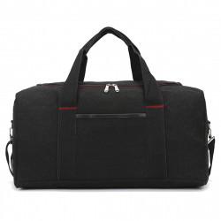 Men and Women Canvas Fitness Yoga Bag Outdoor Gym Shoulder Bag Luggage Handbag