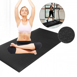 79x40inch EVA Thick Exercise Floor Pad Shockproof Skidproof Walking Pad Treadmill Mat Fitnes Yoga Mat