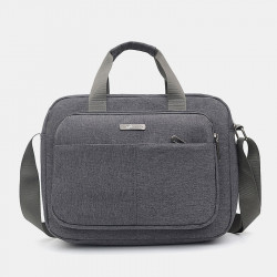 Men Large Capacity Oxfords Waterproof Handbag Shoulder Bag Crossbody Bag