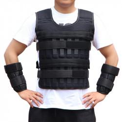 KALOAD Breathable Adjustable Running Sandbag Vest Fitness Sports Weight-bearing Vest