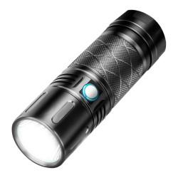 XMUND XD-FL6 SST40 2800LM Super Brignt 500m Long Range USB Rechargeable 18650 LED Flashlight