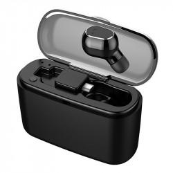 M8 Mini bluetooth Single Earphone Wireless In-ear Headphone with Flat Button Version