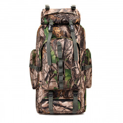 80L Large Capacity Outdoor Mountaineering Bag Military Camouflage Tactical Backpack Camping Hiking Bag