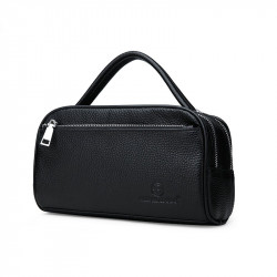 Men Fashion Large Capacity Business Leather Briefcase Handbag