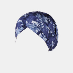 Women Flower Printing Turban Hat Cotton Casual Breathable Head Caps Beanie