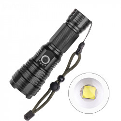 XANES 1915B LED Flashlight XHP70 5Modes Zoomable USB Rechargeable Waterproof Flashlight 26650/18650 Flashlight
