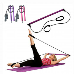 1PC Non-slip Lifting Barbell Fitness Yoga Bar Sports Gym Stretch Rope Stick Body Beauty Exercise Tools