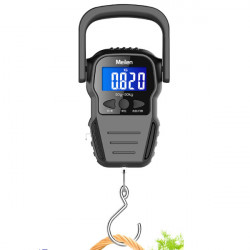 Meilen 2 In 1 Digital Electronic Scale 1.6M Tape Measure Travel Portable Luggage Scales