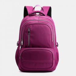 Women Men Large Capacity Waterproof Light Weight Multi-Pocket Backpack For Outdoor Travel