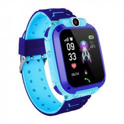 1.96in Touch Screen SOS Online Call Camera Kids Smart Watch Waterproof Fitness Tracker Sports Bracelet
