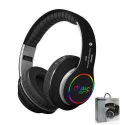 VJ033 Foldable Wireless bluetooth Stereo Headphone Super Bass Headset Earphones with Mic