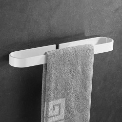 30/40/50CM  Bathroom Single Rod Towel Towel Rack Towel Holder Wall Mounted Rack