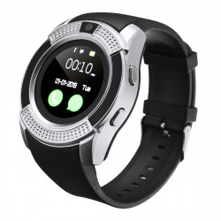KALOAD V8 1.22in HD Camera Sim Card Smart Watch Audio Player Stopwatch Sports Bracelet Fitness Tracker