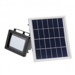 400LM 54 LED Solar Sensor Flood Light Remote Control Outdoor Security Lamp 2200mAh IP65 Waterproof Light