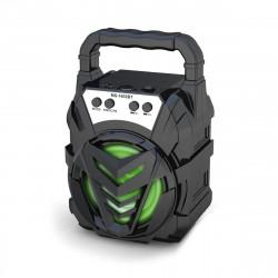 Wireless bluetooth Portable Speaker FM Radio TF Card AUX LED Light Speaker