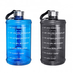 2.2L Outdoor Indoor Sports Water Bottle Fitness Gym Climbing Riding Running Kettle