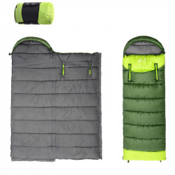 Portable Folding Sleeping Bag Outdoor Travel Envelope Sleeping Bags Compact Sleeping Pad