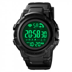 SKMEI 1501 5ATM Waterproof Dgital Smart Watch Luminous Chronograph Calendar Pedometer Sports Watch