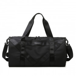 Waterproof Dry Wet Seperation Shoe Compartment Fitness Yoga Bag Sports Gym Handbag Duffle Shoulder Bag