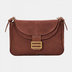 Women Frosted PU Solid Casual Shoulder Bag Crossbody Bag