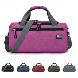 37x20x22cm Sports Yoga Bag Travel Luggage Handbag Gym Fitness Shoulder Bag