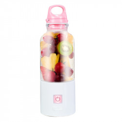 XIAOMI Mijia 500ml Electric Juicer Bottle USB Rechargeable Fruit Blender Mixer For Camping Picnic Travel
